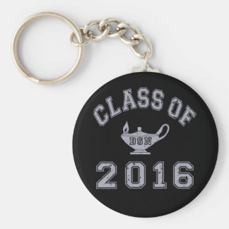 Class of 2016 BSN Basic Round Button Keychain