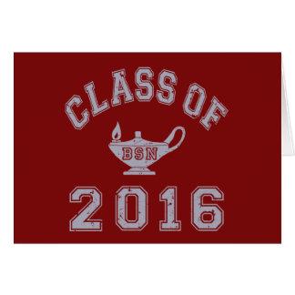 Class of 2016 BSN Card