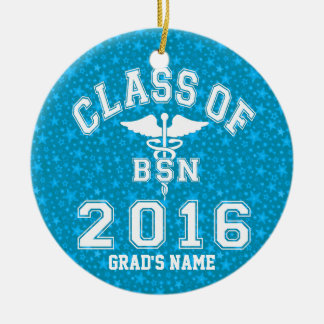 Class Of 2016 BSN Ceramic Ornament
