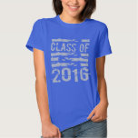Class of 2016 Cool Typography T Shirt