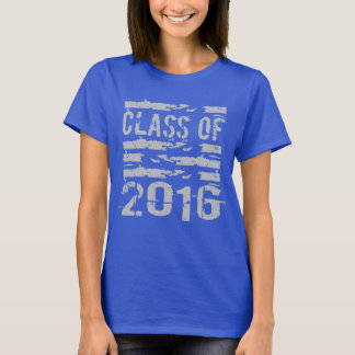 Class of 2016 Cool Typography T-Shirt