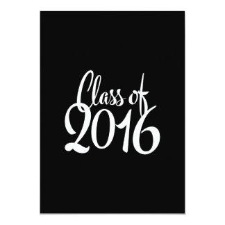 Class of 2016 Elegant Retro Graduation Card