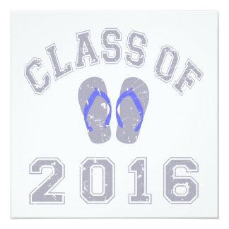 Class Of 2016 Flip Flop Card