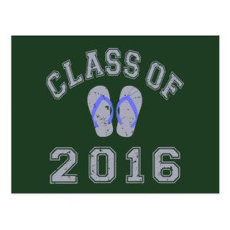 Class Of 2016 Flip Flop Postcard