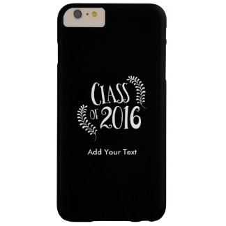 Class of 2016 Gothic Black and White Barely There iPhone 6 Plus Case