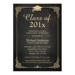 Class of 2016 Grad Cap Elegant Classy Graduation Card