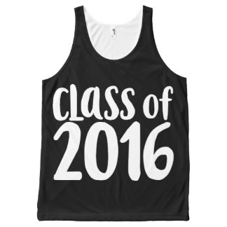 Class of 2016 graduation party All-Over-Print tank top