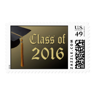 Class of 2016 Graduation Postage Stamp