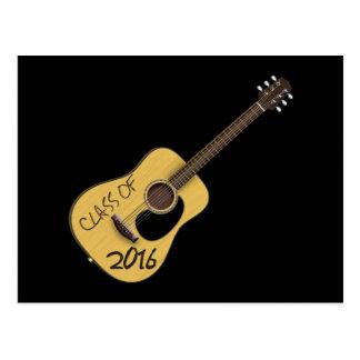 Class of 2016 Guitar Postcard