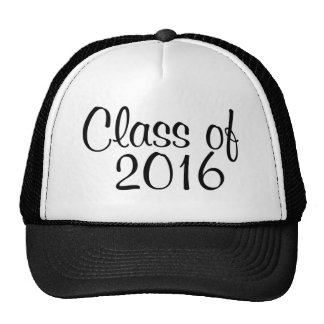 Class of 2016 hats