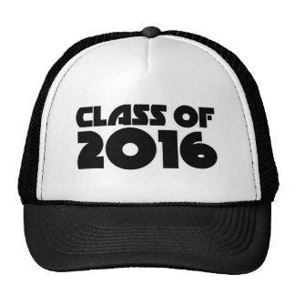 Class of 2016 trucker hats