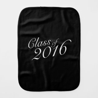 Class of 2016 High School Graduate Burp Cloth