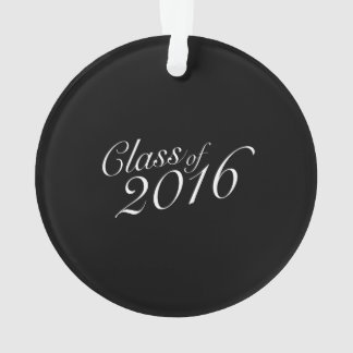 Class of 2016 High School Graduate Ornament