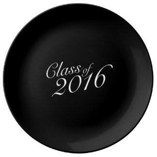Class of 2016 High School Graduate Porcelain Plate