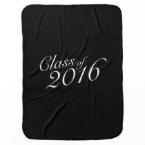 Class of 2016 High School Graduate Swaddle Blanket