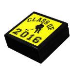 Class Of 2016 Hockey - Black 2 Keepsake Boxes