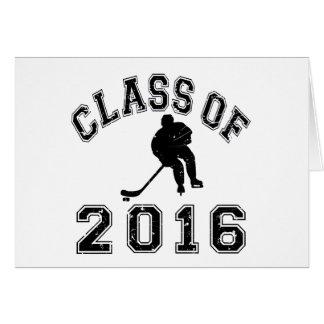 Class of 2016 Hockey Card