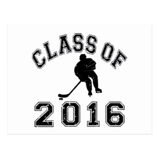 Class of 2016 Hockey Postcard