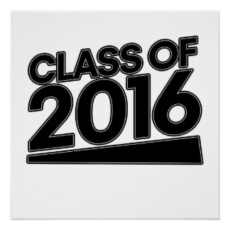Class of 2016 open house poster