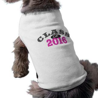 Class Of 2016 Pink Shirt