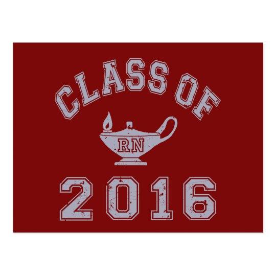 Class Of 2016 RN Postcard
