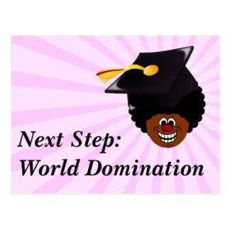 Class of 2016 Seniors World Domination Postcard