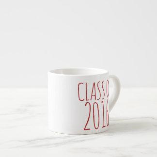 Class of 2016 6 oz ceramic espresso cup