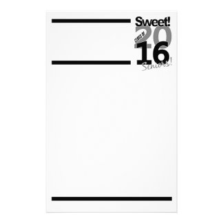 Class of 2016 stationary, customize stationery