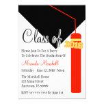 Class Of 2016 Tassel Graduation Invite (Red)