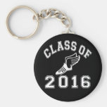 Class of 2016 Track & Field Basic Round Button Keychain