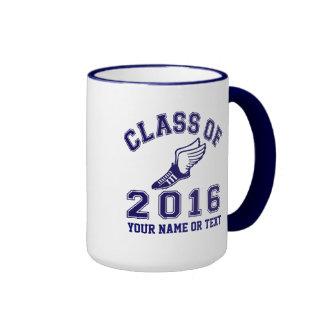 Class of 2016 Track & Field Ringer Mug