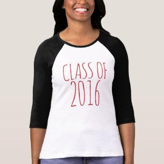 Class of 2016 tee shirts