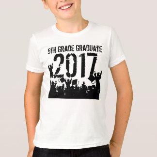 Class of 2017 5th Grade Grad T-Shirt