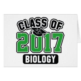 Class Of 2017 Biology Card