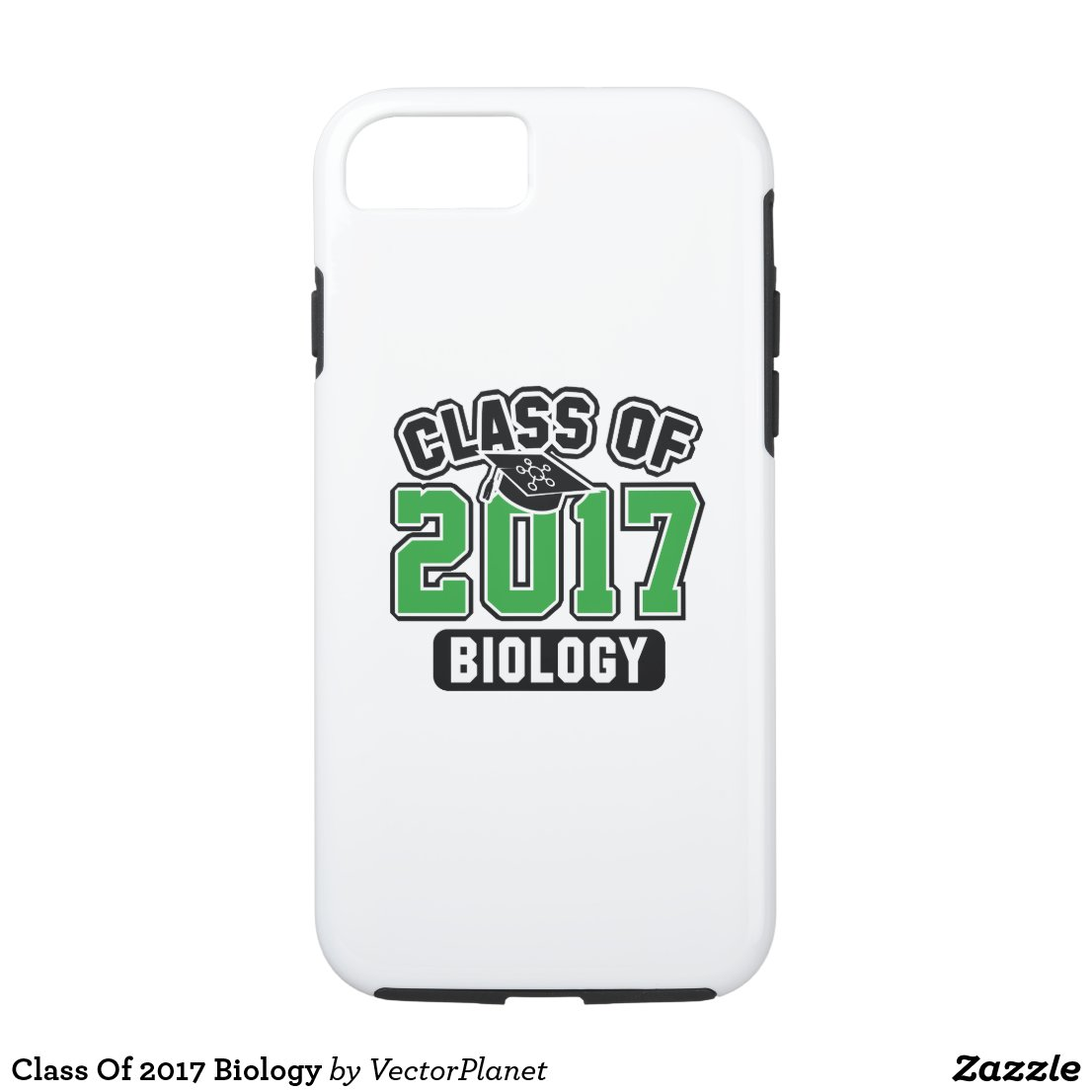 Class Of 2017 Biology iPhone 7 Case