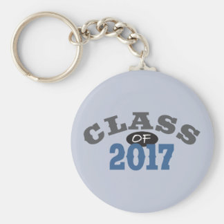 Class Of 2017 Blue Keychain