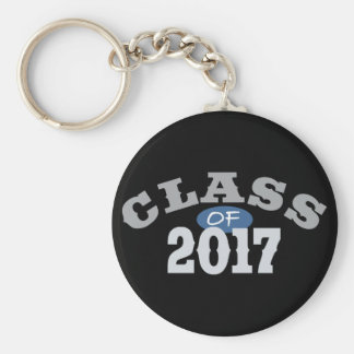 Class Of 2017 Blue Key Chains