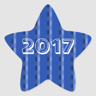 Class of 2017 Blue Star Sticker by Janz