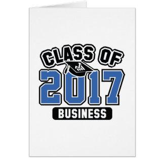 Class Of 2017 Business Card