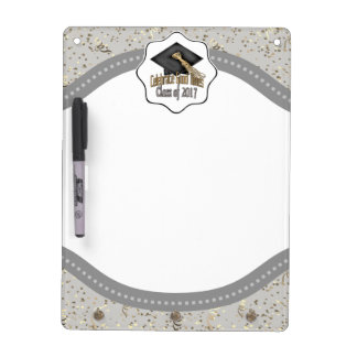Class of 2017 Celebrate Good Times Graduation Gift Dry-Erase Board