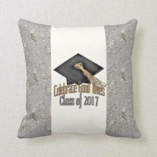 Class of 2017 Celebrate Good Times Graduation Gift Throw Pillow