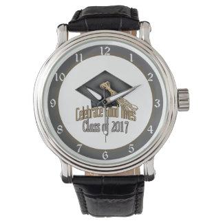Class of 2017 Celebrate Good Times Graduation Gift Wristwatch