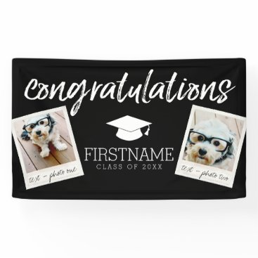 graduation Class of 2017 Graduation 2 Square Photo Collage Banner