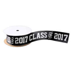 Class of 2017 Graduation Custom Color Gift Ribbon