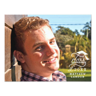 Class of 2017 Graduation Photo Thank You Note Card