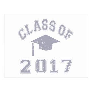 Class Of 2017 Graduation Postcard