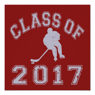Class Of 2017 Hockey Card