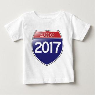 Class of 2017 Interstate Sign Tee Shirt