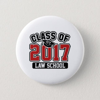 Class Of 2017 Law Pinback Button
