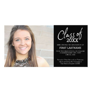 Class of 2017 Modern Graduation Photo Announcement